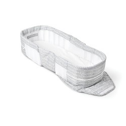 Snuggle Nest Dream Portable Infant Sleeper Bed - Gray Scribbles