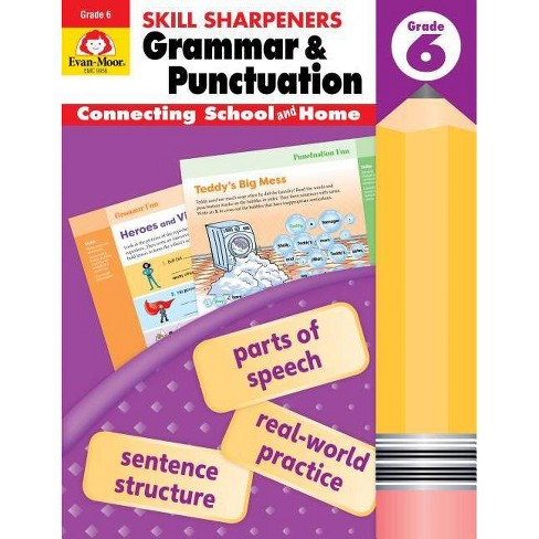 Skill Sharpeners Grammar and Punctuation, Grade 6 - (Paperback) - image 1 of 1