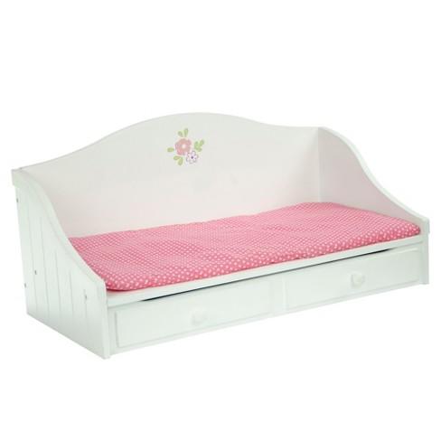 Olivia's Little World - Little Princess Doll Furniture - Trundle Bed - image 1 of 4