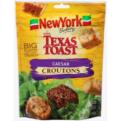 New York Bakery The Original Texas Toast Caesar Croutons - 5oz