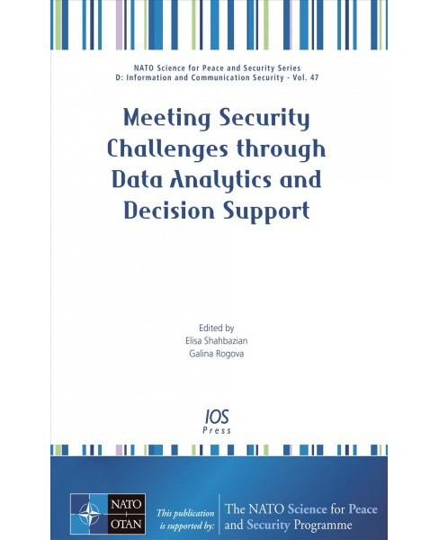 Meeting Security Challenges Through Data Analytics and Decision Support (Paperback) - image 1 of 1