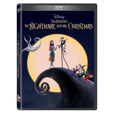 The Nightmare Before Christmas 25th Anniversary Edition (DVD)