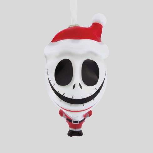 Jack Skellington Christmas.Disney The Nightmare Before Christmas Jack Skellington In Santa Suit Christmas Ornament