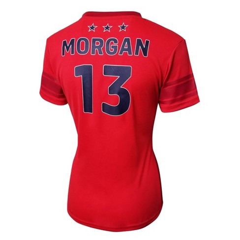 81c1e4e684b FIFA U.S. Women s Soccer 2019 World Cup Alex Morgan Women s Jersey   Target