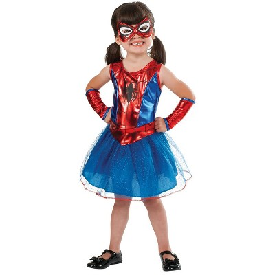 Kids' Spidergirl Halloween Costume 2T-4T