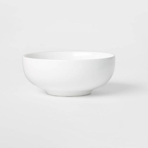 26oz Porcelain Coupe Bowl White - Threshold™ - image 1 of 3
