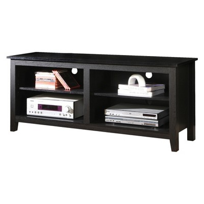"Rustic Weathered Wood TV Stand for TVs up to 65"" - Saracina Home"