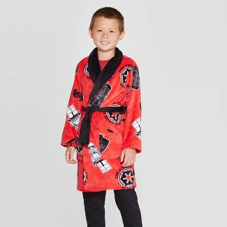Boys' LEGO Star Wars Robe - Red S