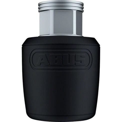 "ABUS Nutfix Solid Axle 2 Pack: M 3/8"", Black Bicycle Wheel Security Lock Nut - image 1 of 2"