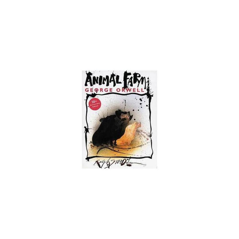 Animal Farm : A Fairy Story (Anniversary) (Hardcover) (George Orwell)