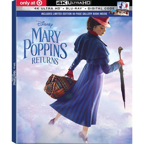 Mary Poppins Returns (4K/UHD) - Target Exclusive - image 1 of 3