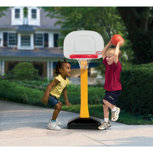 Little Tikes Tot Sports Basketball Set- Non Adjustable Post image number null