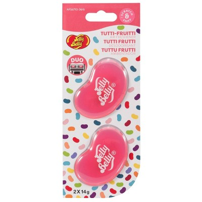 Jelly Belly Duo Vent Air Freshener - Pink