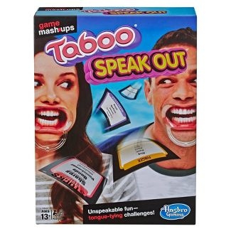 Game Mashups Taboo Speak Out Game