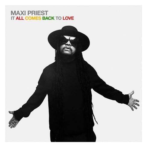 Maxi Priest - It All Comes Back to Love (CD) - image 1 of 1