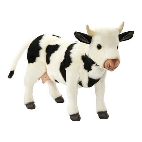 Hansa Cow Plush Toy Black White Target