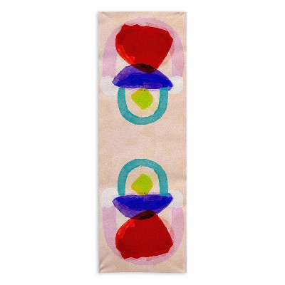 "Sewzinski Bestow 24"" x 70"" Yoga Mat Towel - Society6"