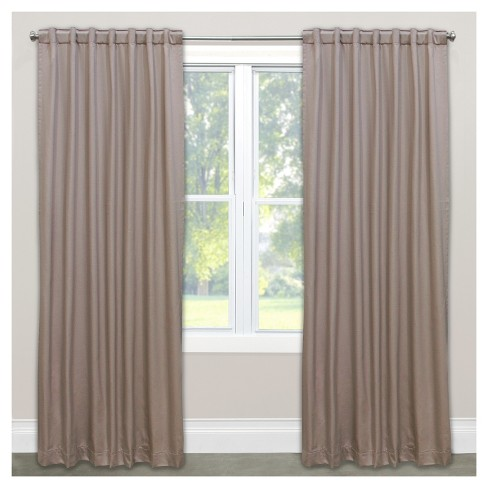 Shantung Blackout Curtain Panel - Skyline Furniture® - image 1 of 6