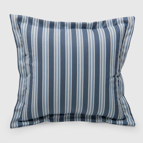 Coastal Stripe Outdoor Deep Seat Pillow Back Cushion - Threshold™ - image 1 of 2
