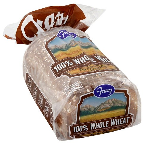 Franz 100% Whole Wheat Sandwich Bread - 24oz - image 1 of 3
