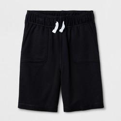 Boys' Adaptive Knit Shorts - Cat & Jack™ Black