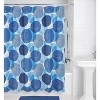 Textured Circle Shower Curtain - Allure Home Creations - image 2 of 4