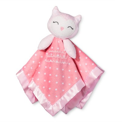 Small Security Blanket Owl - Cloud Island™ Pink