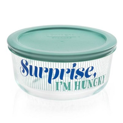 Pyrex 4cup Food Storage Container - Surprise, I'm Hungry