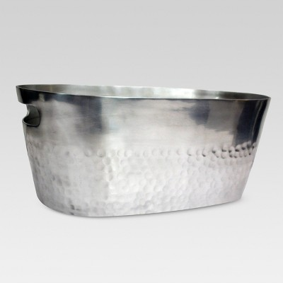 Aluminum Beverage Tub Silver - Threshold™