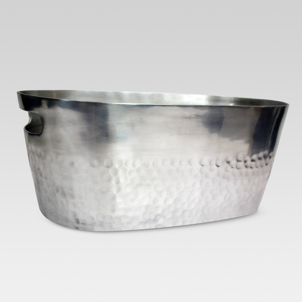 Aluminum Beverage Tub Silver - Threshold, Light Silver