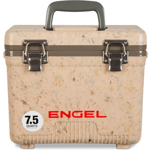Engel 7.5-Quart EVA Seal Ice and DryBox Cooler with Carry Handles, Grassland - image 1 of 4