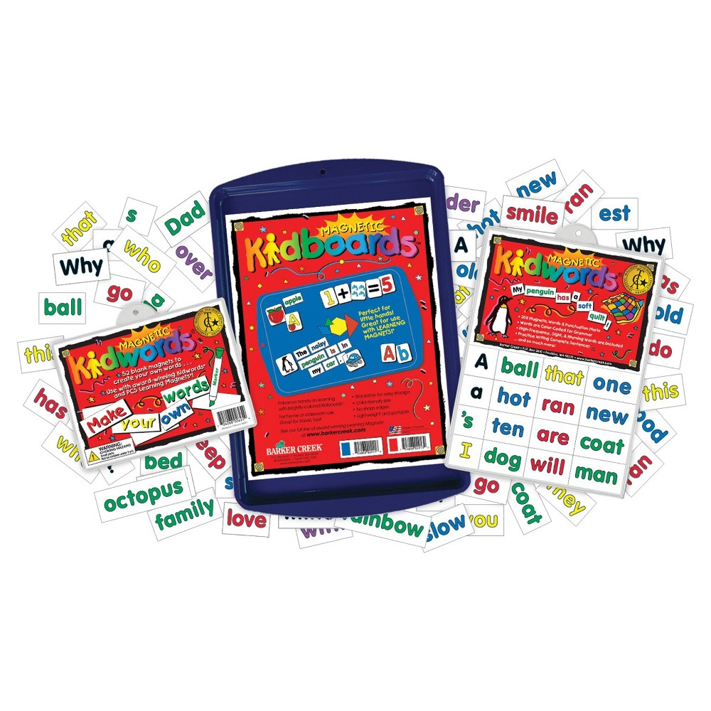 Image of Barker Creek Learning Magnets - High Frequency Words Activity Set