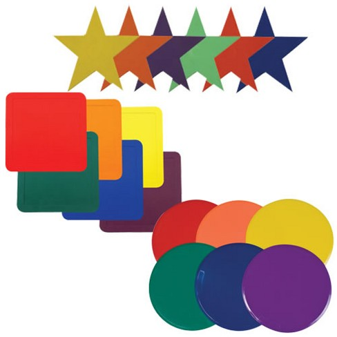 Champion Sports Colors and Shapes Activity Mats - image 1 of 2