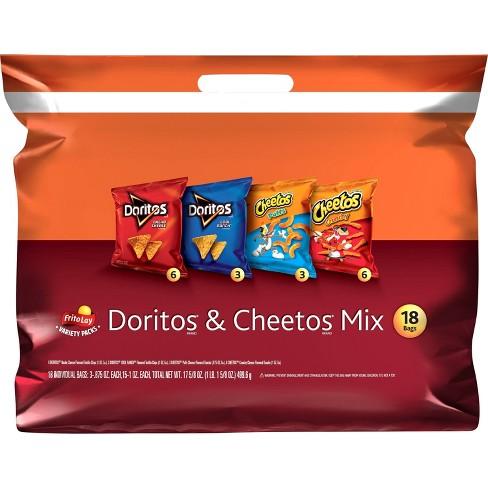 Frito-Lay Variety Pack Doritos & Cheetos Mix - 18ct - image 1 of 4