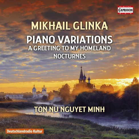 Ton nu nguyet minh - Glinka:Piano variations (CD) - image 1 of 1