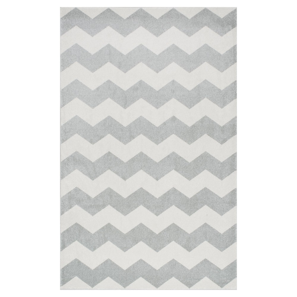 Sterling Gray Solid Loomed Area Rug - (7'10