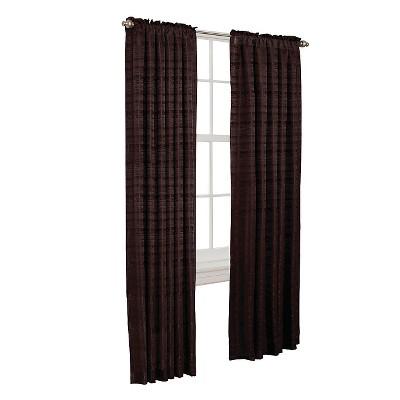 "84""x50"" Francesca Room Darkening Curtain Panel Coffee Bean - Thermal Shield"