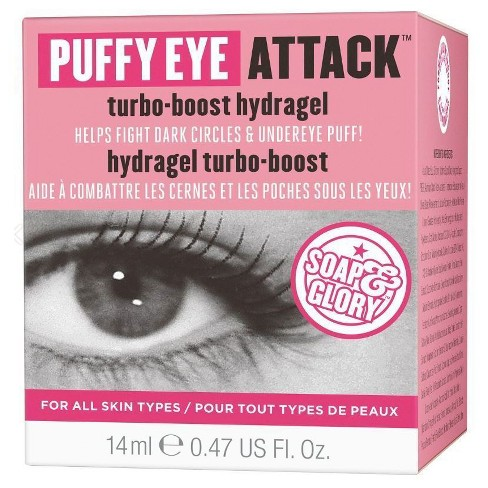 Soap & Glory Puffy Eye Attack Turbo-Boost Hydragel .47 oz - image 1 of 3