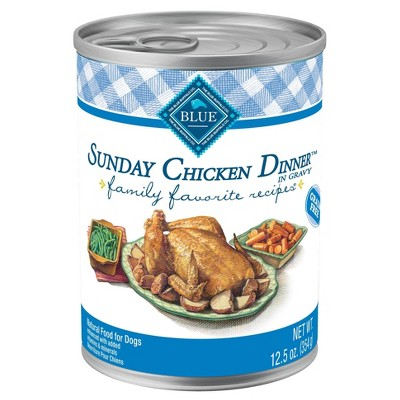 Blue Buffalo Family Favorites Wet Dog Food - 12.5oz