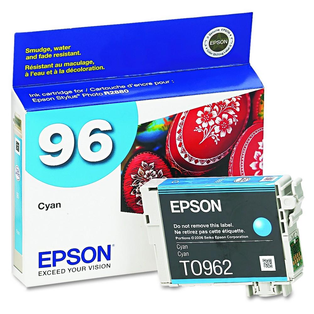 Epson 96 Single Ink Cartridge - Cyan (Blue) (EPST096220)