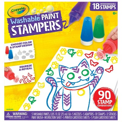 Crayola Washable Paint Stampers