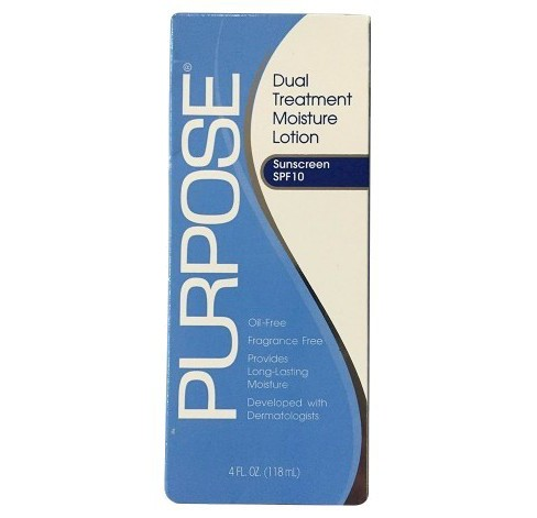 Unscented Purpose Dual Treatment Moisture Lotion SPF 10 - 4oz - image 1 of 2