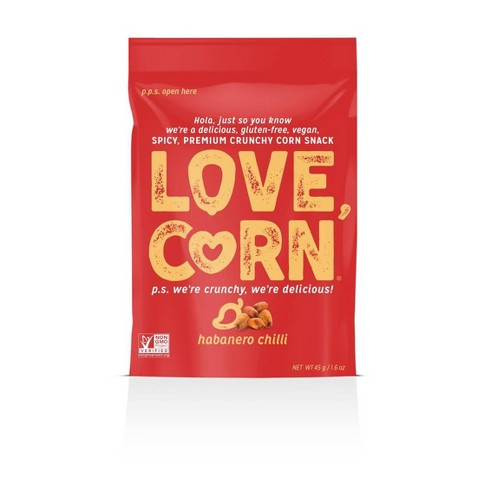 Love Corn Habanero Crunchy Corn Snack - 1.6oz - image 1 of 1