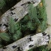 """Northlight White and Black Playful Reindeer Wired Christmas Craft Ribbon 2.5"""" x 10 Yards - image 3 of 3"""