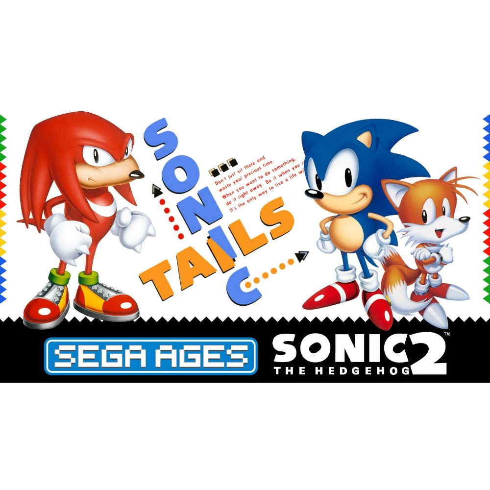 Sega Ages Sonic The Hedgehog 2 Nintendo Switch Digital