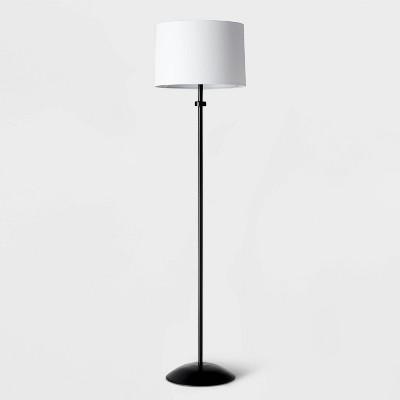 Floor Stick Light with Shade Black/White - Pillowfort™