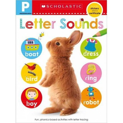 Pre-K Skills Workbook: Letter Sounds (Scholastic Early Learners)- (Paperback)