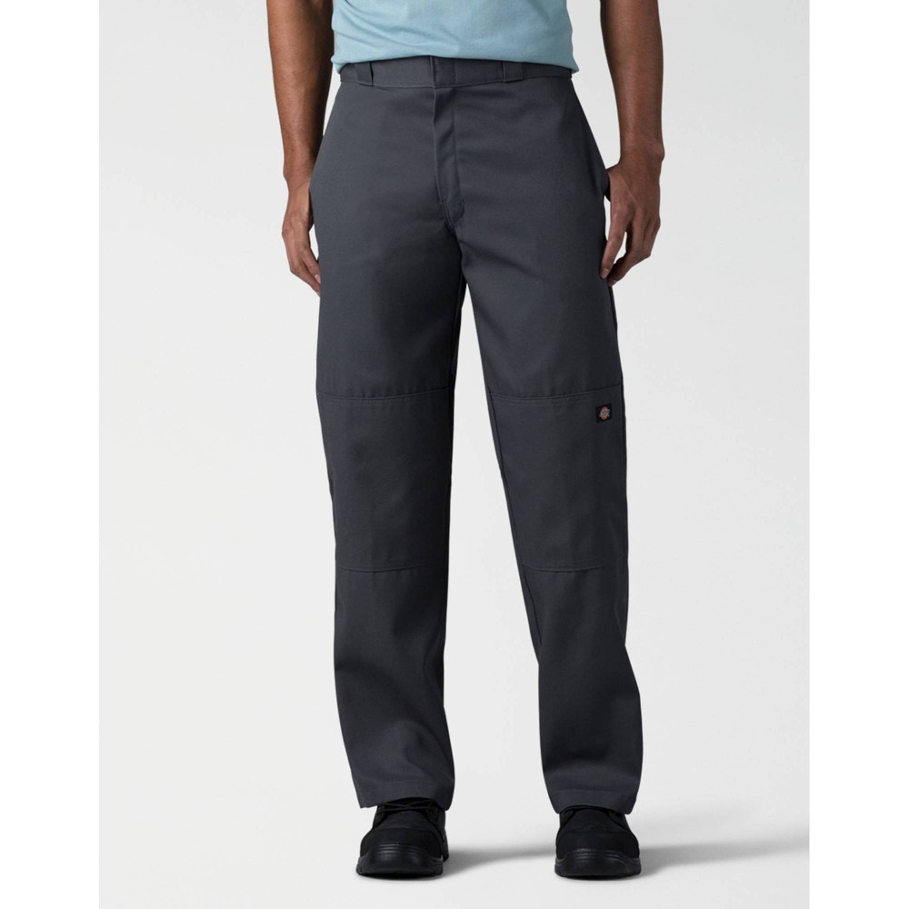 Dickies Men 39 S Big 38 Tall Loose Fit Double Knee Work Pants Charcoal 50x32