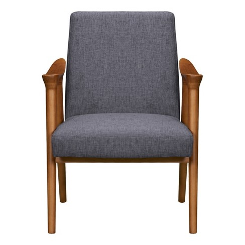 Incredible Pelisium Mid Century Accent Chair Beige Modern Home Pabps2019 Chair Design Images Pabps2019Com