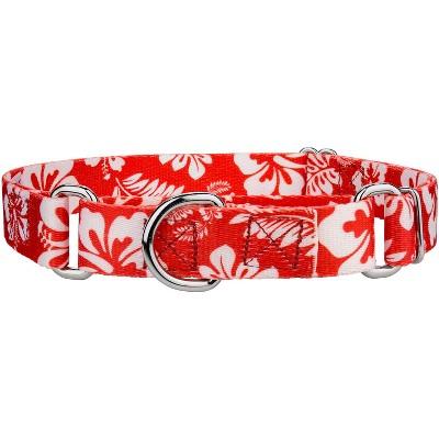 Country Brook Petz™ Red Hawaiian Martingale Dog Collar